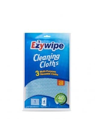EZYWIPE 3 CLEANING CLOTHS – EXTRA LARGE SIZE