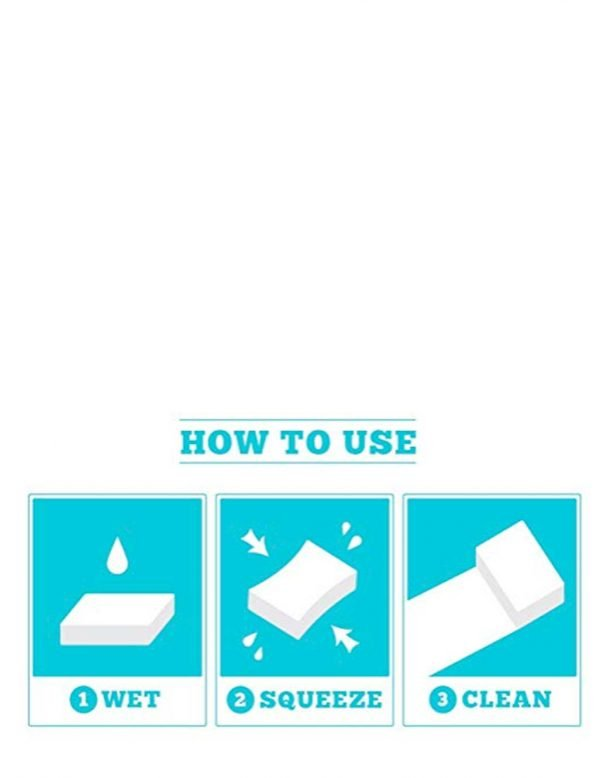 how to use magic eraser melamine