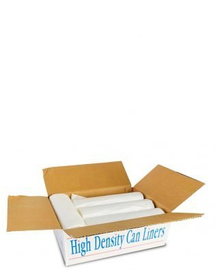 CAN LINER – CLEAR HIGH DENSITY LARGE GARBAGE BAGS