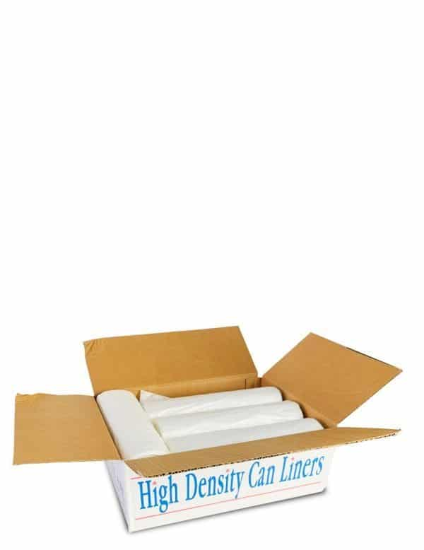 Can liner clear high-density - Large Garbage Bags