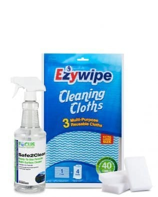 SAFE 2 CLEAN / EZYWIPE / MAGIC ERASER CLEANING PACK