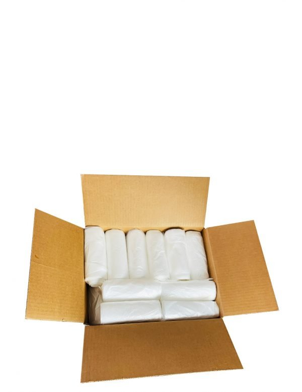 Can liner clear high-density - Garbage Bags